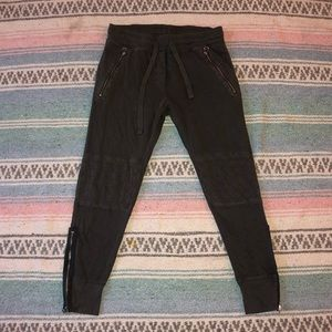Gap Moto Sweatpants